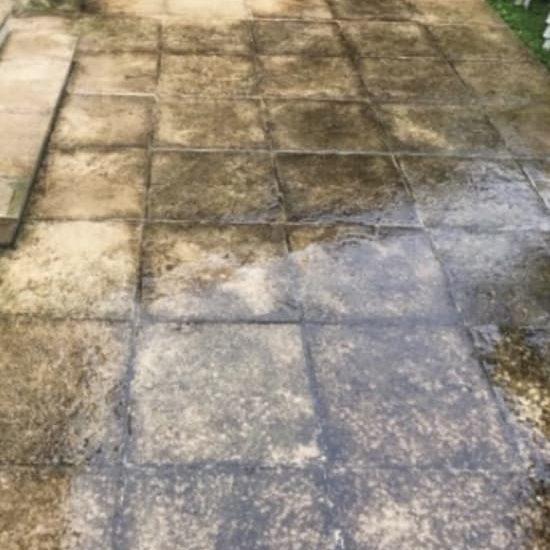 Nettoyage de surface avant